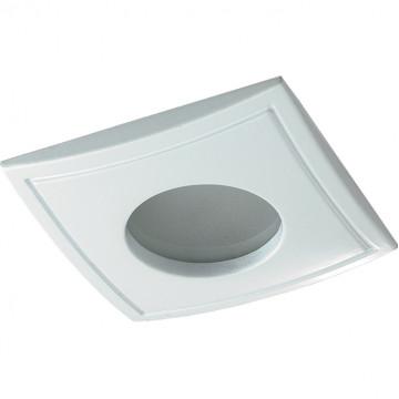 Встраиваемый светильник Novotech Spot Aqua 369309, IP65, 1xGU5.3x50W, белый, металл, стекло