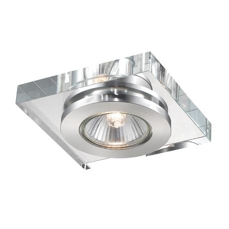 Встраиваемый светильник Novotech Spot Cosmo 369408, 1xGU5.3x50W, хром, прозрачный, хрусталь - миниатюра 1