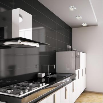 Встраиваемый светильник Novotech Spot Cosmo 369408, 1xGU5.3x50W, хром, прозрачный, хрусталь - миниатюра 2