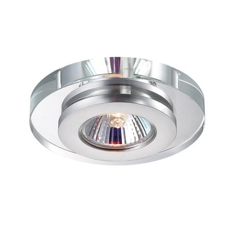 Встраиваемый светильник Novotech Spot Cosmo 369409, 1xGU5.3x50W, хром, прозрачный, хрусталь