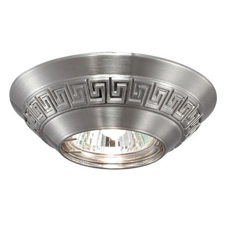 Встраиваемый светильник Novotech Nemo 369561, 1xGU5.3x50W, никель, металл