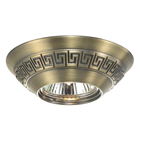 Встраиваемый светильник Novotech Nemo 369562, 1xGU5.3x50W, бронза, металл
