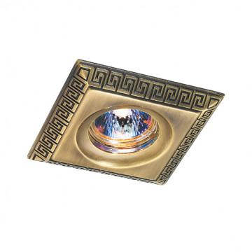 Встраиваемый светильник Novotech Spot Nemo 369564, 1xGU5.3x50W, бронза, металл