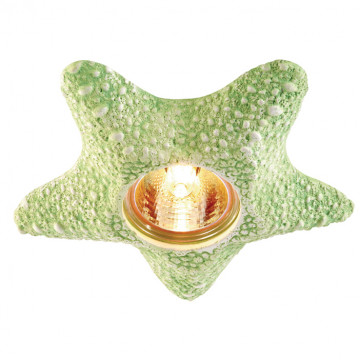 Встраиваемый светильник Novotech Sandstone 369582, 1xGU5.3x50W, зеленый, песчаник