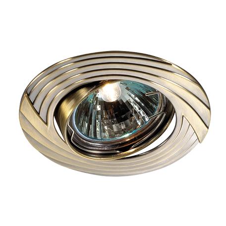 Встраиваемый светильник Novotech Trek 369609, 1xGU5.3x50W, бронза, металл