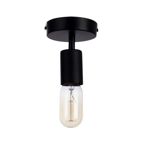 Потолочный светильник Arte Lamp Fuori A9184PL-1BK, 1xE27x60W, черный, металл