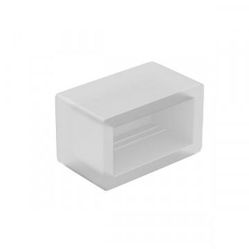 Изолирующая заглушка для светодиодных лент Lightstar 430187, белый, пластик