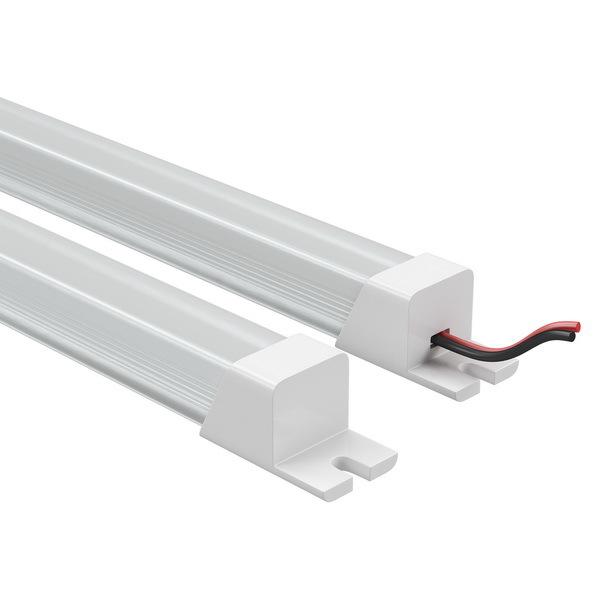 Мебельный светодиодный светильник Lightstar ProfiLED 409122, LED 19,2W 3000K, белый, пластик - фото 1