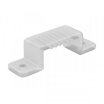 Монтажная клипса для профиля для светодиодной ленты Lightstar 430186, белый, пластик