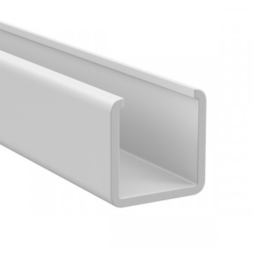 Накладной профиль для светодиодной ленты без рассеивателя Lightstar LED Strip Profiles 430192, белый, пластик