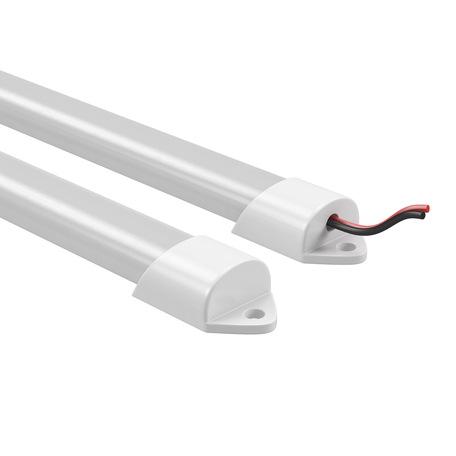 Мебельный светодиодный светильник Lightstar ProfiLED 409014, LED 9,6W 4500K, белый, пластик