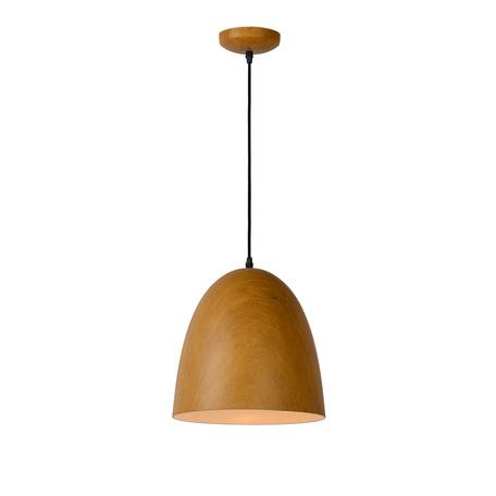 Подвесной светильник Lucide Woody 76361/01/72, 1xE27x60W, коричневый, металл