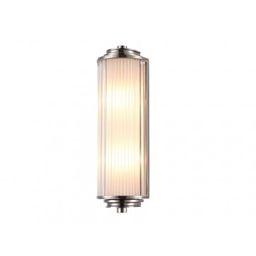 Настенный светильник Newport 3292/A (М0057191), 2xG9x40W, никель, прозрачный, металл, стекло