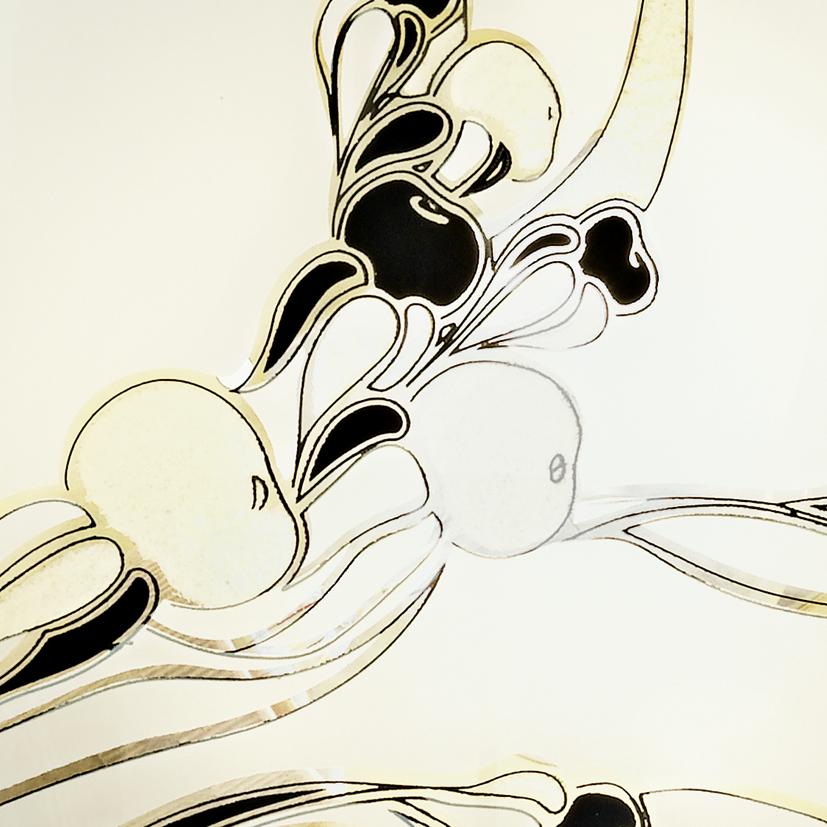 Потолочный светильник Eglo Planet 3 83199, 1xE27x60W, золото, белый, черный, металл, стекло - фото 2