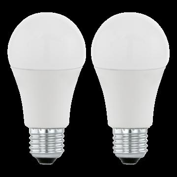 Светодиодная лампа Eglo 11483 груша E27 9,5W, 3000K (теплый), гарантия 5 лет