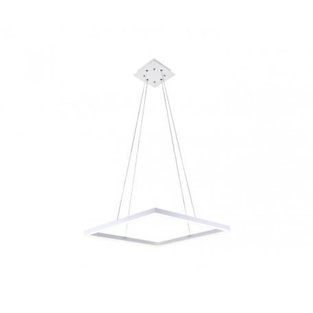 Подвесной светодиодный светильник Kink Light Альтис 08230,01, LED 36W 4000K 3240lm, белый, металл, металл с пластиком