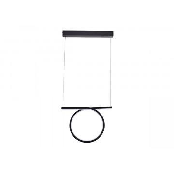 Подвесной светодиодный светильник Donolux Nimbo S111024/1 20W Black