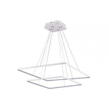 Подвесной светодиодный светильник Donolux Nimbo S111024/2SQ 75W White In, LED 75W 3000K 2170lm, белый