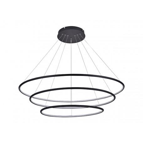Подвесной светодиодный светильник Donolux Nimbo S111024/3R 144W Black In, LED 144W 3000K 4180lm