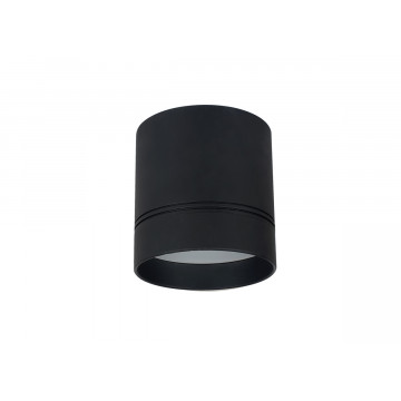 Потолочный светодиодный светильник Donolux Barell DL18483/WW-Black R, LED 9W 3000K 820lm