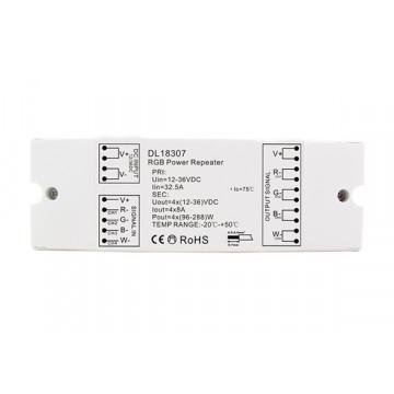 Усилитель сигнала для светодиодных лент RGB Donolux DL18307/RGB Power Repeater, белый