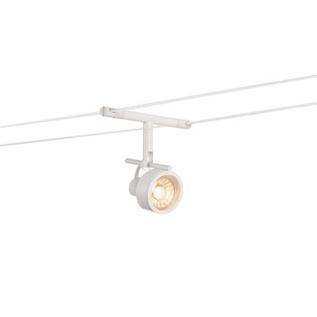 Светильник с регулировкой направления света для тросовой системы SLV TENSEO, SALUNA 139131, 1xGU5.3x35W, белый