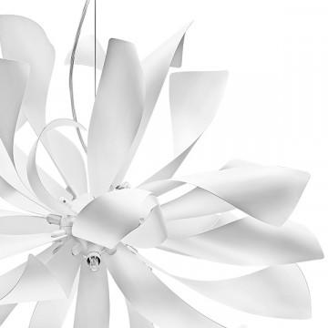 Подвесная люстра Lightstar Turbio 754266, 6xG9x40W, белый, металл - миниатюра 2