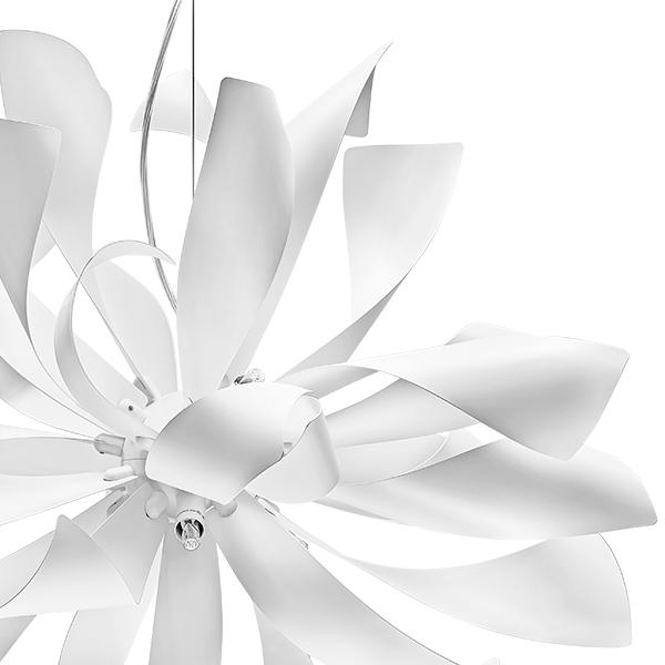 Подвесная люстра Lightstar Turbio 754266, 6xG9x40W, белый, металл - фото 2