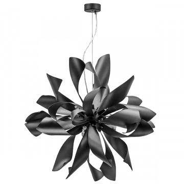 Подвесная люстра Lightstar Turbio 754267, 6xG9x40W, черный, металл