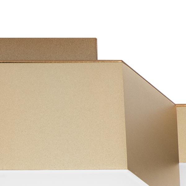 Потолочная светодиодная люстра Lightstar Favo 750121, IP40, LED 60W 3000K 2880lm, матовое золото, металл, пластик - фото 3
