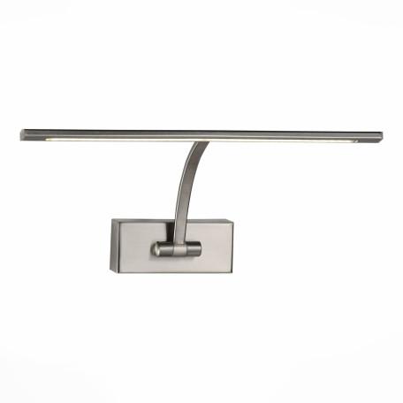 Настенный светодиодный светильник для подсветки картин ST Luce Minare SL595.071.01, LED 5W 4000K, никель, металл