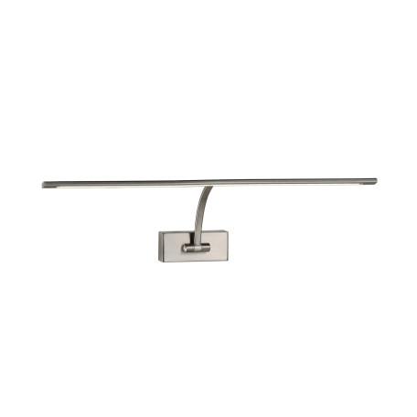 Настенный светодиодный светильник для подсветки картин ST Luce Minare SL595.701.01, LED 8W 4000K, никель, металл