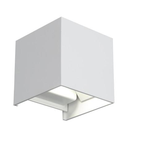 Настенный светодиодный светильник ST Luce Staffa SL560.501.02, IP65, LED 6W 4000K, белый, металл