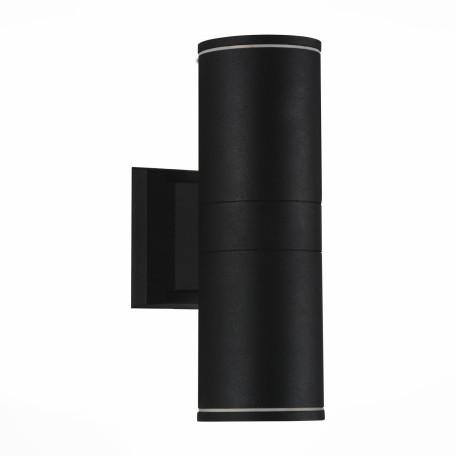 Настенный светодиодный светильник ST Luce Tubo SL561.401.02, IP65, LED 10W 4000K 836lm, черный, металл