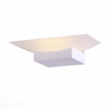 Настенный светодиодный светильник ST Luce Calice SL581.011.01, LED 6W 4000K, белый, металл, пластик