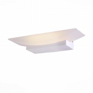 Настенный светодиодный светильник ST Luce Calice SL581.101.01, LED 6W 4000K, белый, металл, пластик