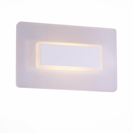 Настенный светодиодный светильник ST Luce Trina SL585.011.01, LED 6W 4000K, белый, металл с пластиком