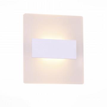 Настенный светодиодный светильник ST Luce Trina SL585.101.01, LED 12W 4000K, белый, пластик