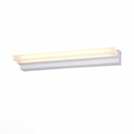 Настенный светодиодный светильник ST Luce Local SL589.111.01, LED 18W, 4000K (дневной), белый, металл, пластик