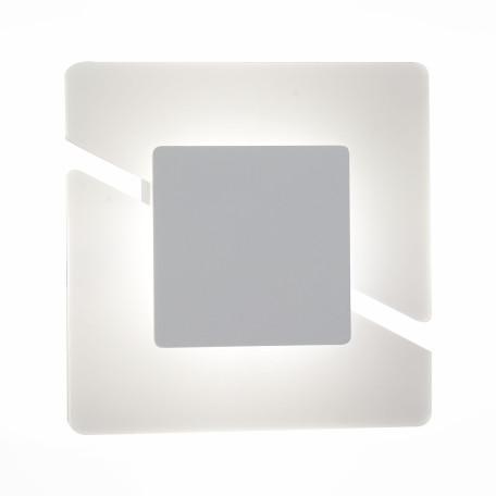 Настенный светодиодный светильник ST Luce Sezione SL594.051.01, LED 5W 4000K, белый, пластик
