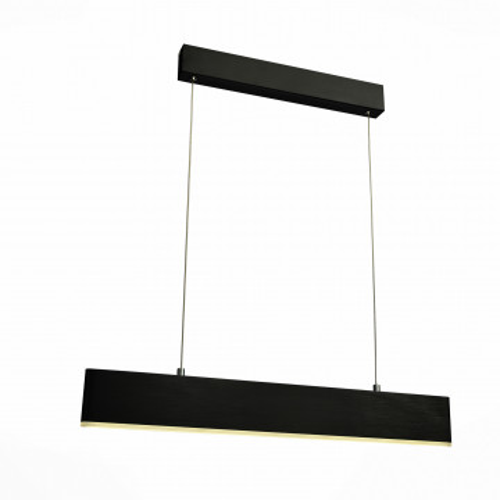 Подвесной светодиодный светильник ST Luce Percetti SL567.403.01, LED 24W 4000K, черный, металл