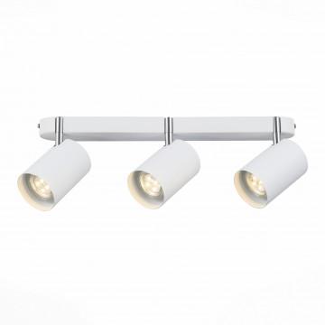 Потолочный светильник с регулировкой направления света ST Luce Fanale SL597.501.03, 3xGU10x3W, белый, металл