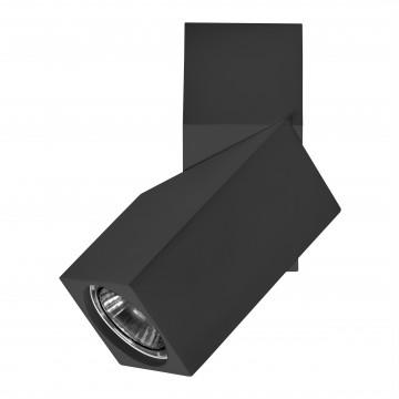 Потолочный светильник с регулировкой направления света Lightstar Illumo 051057, 1xGU10x50W, черный, металл