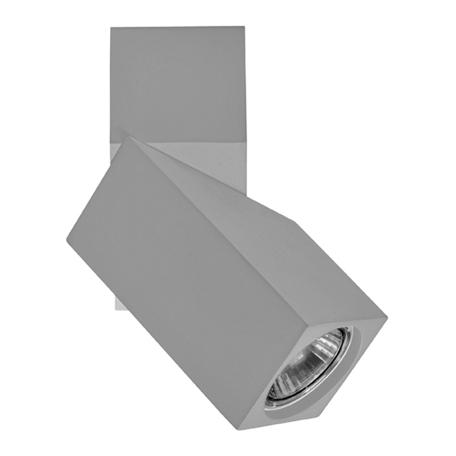 Потолочный светильник с регулировкой направления света Lightstar Illumo 051059, 1xGU10x50W, серый, металл