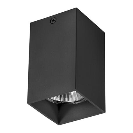 Потолочный светильник Lightstar Rullo 216337, 1xGU10x50W, черный, металл