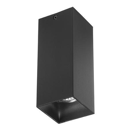 Потолочный светильник Lightstar Rullo 216387, 1xGU10x50W, черный, металл