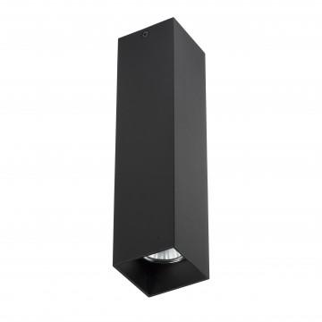 Потолочный светильник Lightstar Rullo 216397, 1xGU10x50W, черный, металл