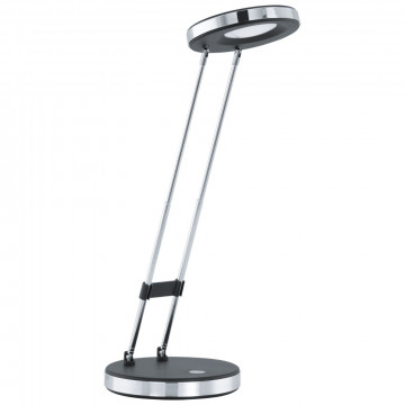 Настольная светодиодная лампа Eglo Gexo 93076, LED 3W 3000K 220lm CRI>80, черный, металл, металл с пластиком, пластик