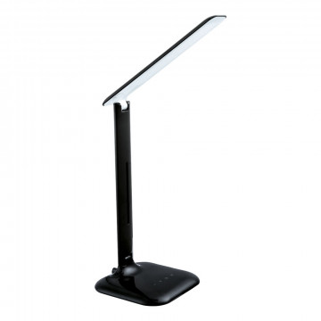 Настольная светодиодная лампа Eglo Caupo 93966, LED 2,9W 3000-6500K 280lm CRI>80, черный, пластик