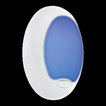 Штекерный светодиодный светильник-ночник Eglo Tineo 92964, RGB, белый, пластик